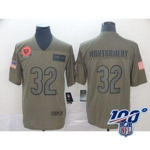Chicago Bears David Montgomery Jersey (4)